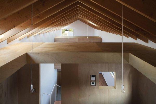 建築実例:熊取の住宅内観