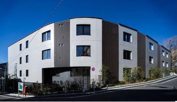 共同住宅「近代建築 2017年3月号に載りました」