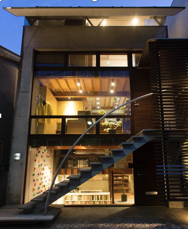 代官山のパイクオフィスは隠れ家のような一軒家です。
