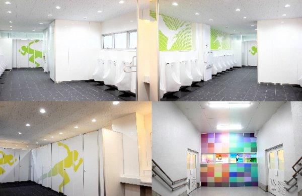 東京パラリンピックの練習競技場となる駒沢競技場のトイレの大規模改修を行いました。aika特別賞受賞