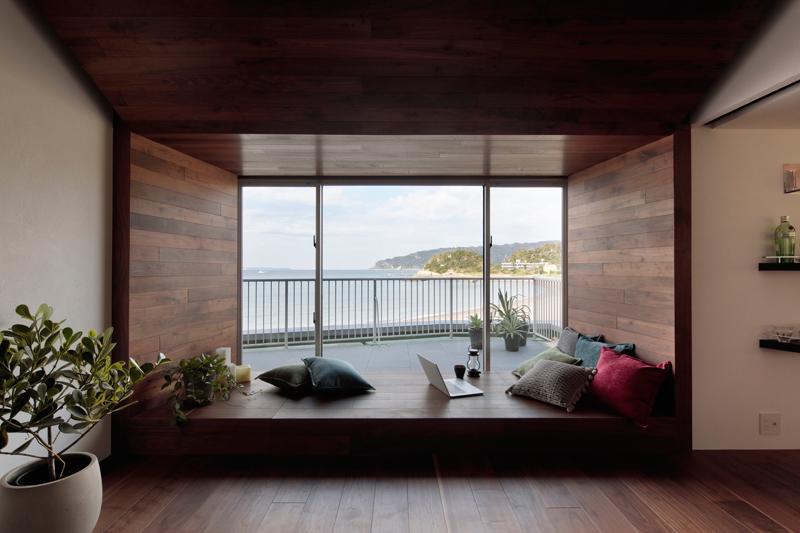 海が目の前のマンションリノベーション