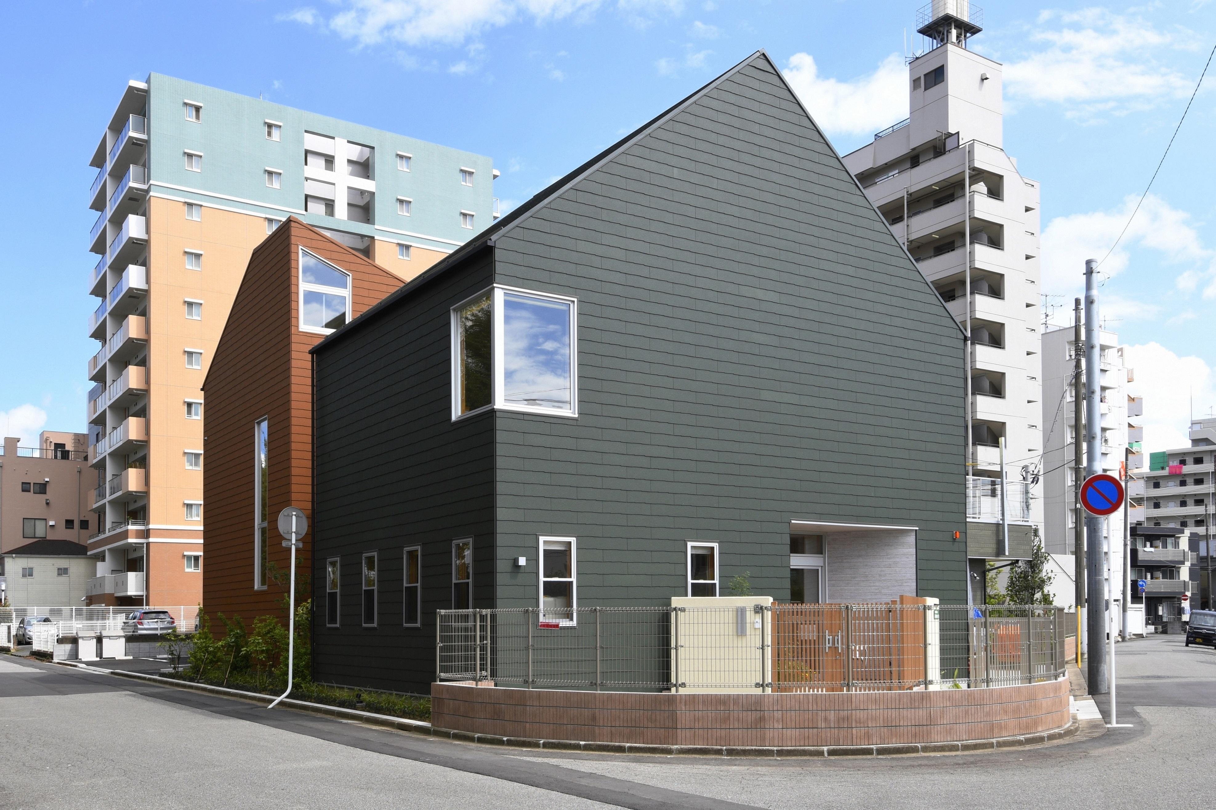 設計担当案件:千葉県松戸市ゆいのひ保育園外観