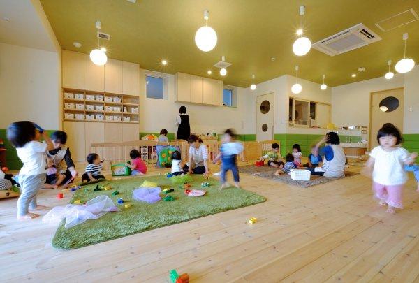 ビル内に新設した小規模保育園