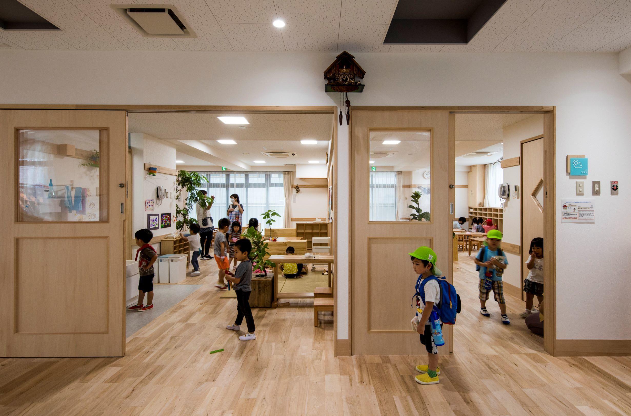 異年齢保育のスペースを作った保育園