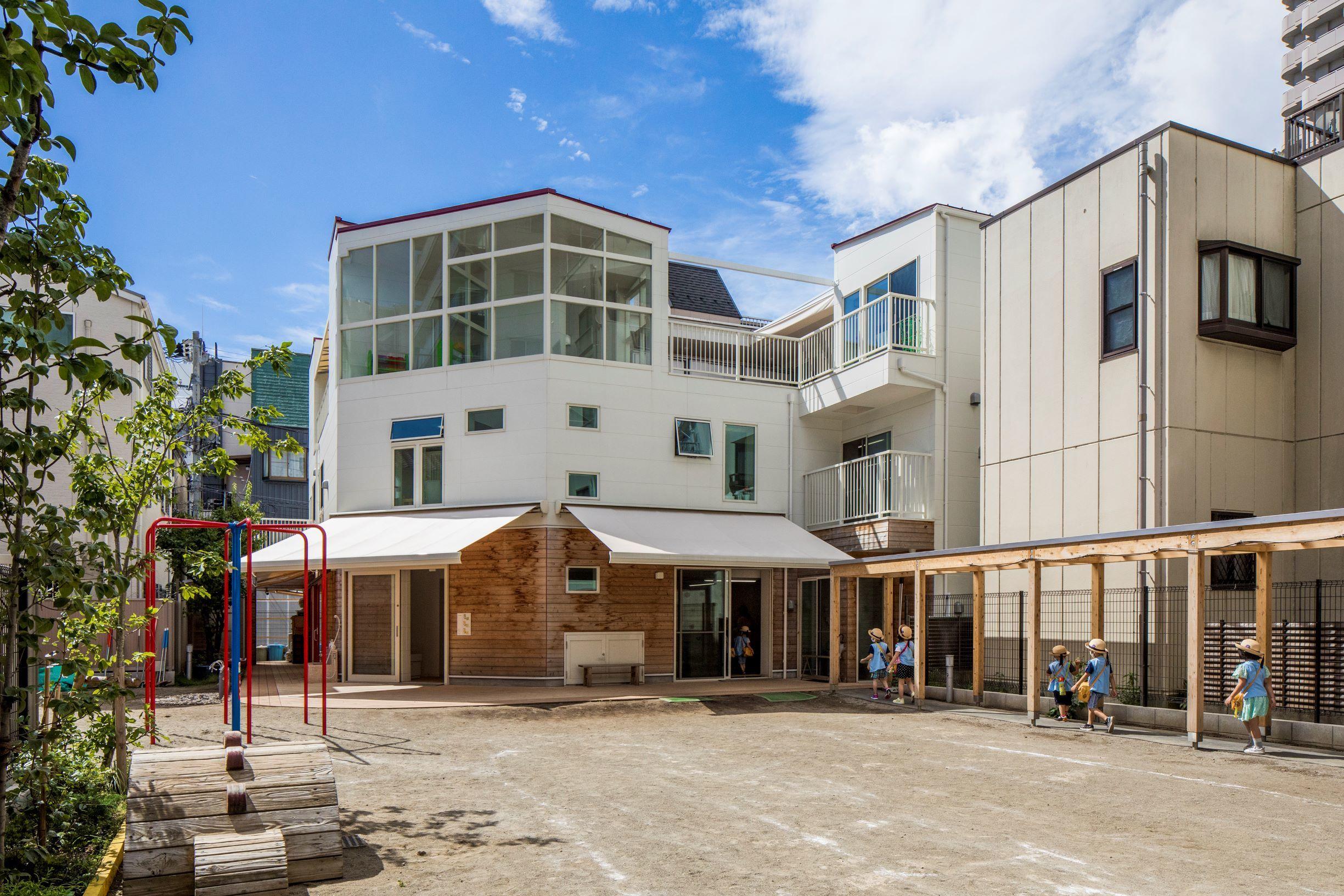 歴史ある幼稚園の改築事例